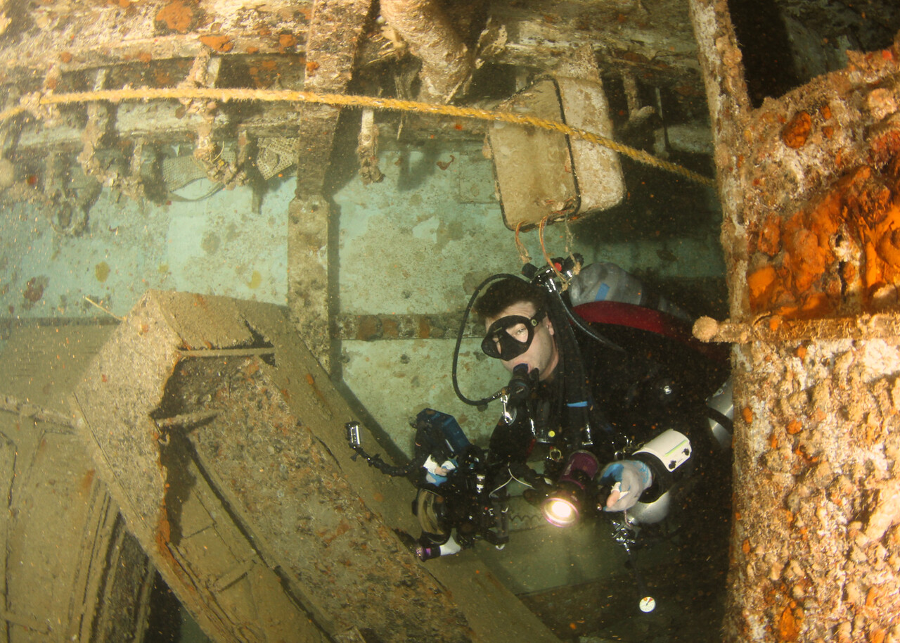 The USCG Duane shipwreck, Florida Keys