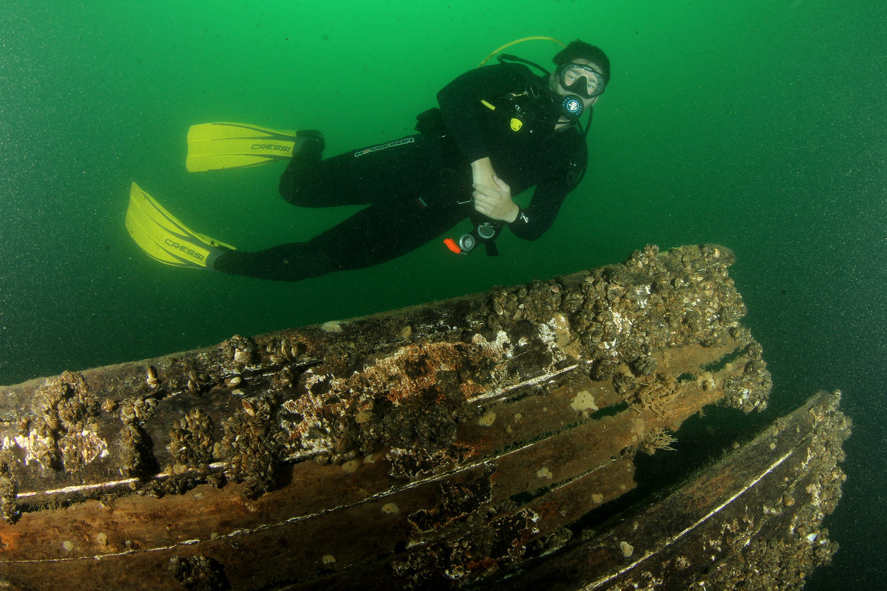 Trip to the Thousand Islands<br /> <br /> The Maggie L. Wreck<br /> <br /> Dylan Rothschild